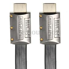 1-15M 3-49FT Premium Flat HDMI CABLE High Speed v2.0 For Audio 3D HDTV 4K 2160P