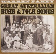 Great Australian Bush & Folk Songs - Warren Fahey New & Sealed CD-JEWEL CASE Fre