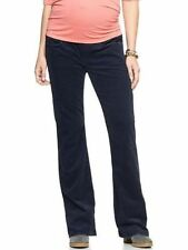 GAP MATERNITY  DEMI PANEL  SEXY BOOTCUT CORDUROY PANTS  TROUSERS  (blue)