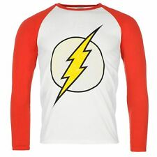 "T SHIRT SUPER HEROS ADULTES ""FLASH"" MANCHES LONGUES - COLLECTION 2016"