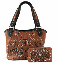 Concealed Carry Weapon Purse -  Inlaid Gun Holster Bag w/ Wallet by Montana West