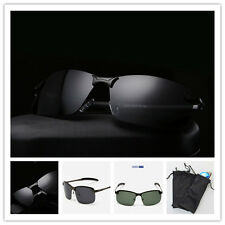Mens Sunglasses Polarized Outdoor UV400 Glasses Shades + Glasses Bag/W624-W627