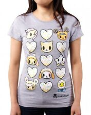 Tokidoki Heart You Donutella and Friends Ladies Junior Tee