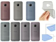 New Ultra Thin Clear Silicone Soft Gel Case Cover Clear Skin for HTC One M9