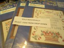 Needles 'N Hoops Stamped Cross Stitch Sampler Kit Your Choice