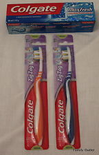 zig zag Colgate medium Toothbrush with Max Fresh