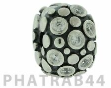 Authentic Retired Pandora Sterling Silver Clear Encore Clip 790593CZ