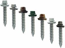 "#14 x 1-1/2"" METAL ROOFING SCREWS: Colored Metal Roofing Screw & Siding Screw"