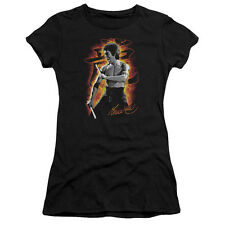"Bruce Lee ""Dragon Fire"" Womens Adult & Junior Tee or Tank"