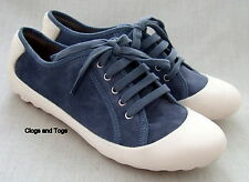 NEW CLARKS FLIPPY BEAUTY WOMENS BLUE SUEDE SHOES