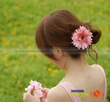 Lady Fashion Sweet Flower Hair Clip Pin Ponytail Holder FAHAIR008