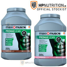 2 x 990g BIGGER Maximuscle Promax Lean Diet Protein 26 SERVINGS PER TUB