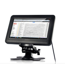 Portable 7 Inch HD USB Powered Touchscreen Computer Monitor, VGA, 800x480