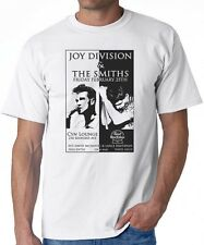 T-SHIRT Joy Division The Smiths Gig Flyer Tour Poster cure