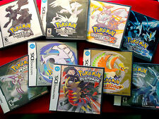 Pokemon Replacement Cases + Manuals for Nintendo DS [NO GAMES]