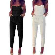 HOT Sexy Women Backless Party Jumpsuit Playsuit Bodycon Romper Trousers Clubwear