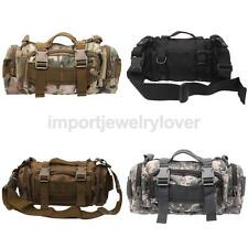 Outdoor Military Tactical Compact Waist Pack Molle Assault Backpack Tote Hanbag