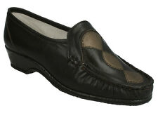 LADIES SANDPIPER IVY SLIP ON CASUAL EVERYDAY MOCCASIN SHOES