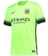 OFFICIAL NIKE MANCHESTER CITY 3RD FOOTBALL SHIRT SHORT SLEEVES 2015-16 ADULTS