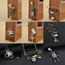 Fashion New Vintage Style Charms Party Huge Statement Retro Necklace Jewelry Hot