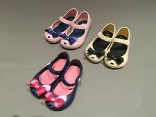 Girl Kids Sandal Bowknot Jelly Summer Cartoon Soft Shoes New Toddler 3 Colors