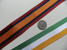 Queens South Africa & Kings SA Medal, Replacement Ribbon, Full Size [32mm].