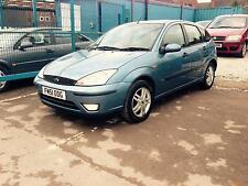 2001/51 Ford Focus 1.6 ZETEC MET BLUE 1 FORMER KEEPER SERVICE HISTORY LOW MILES