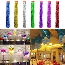 Metallic Shiny Tinsel Foil Tassel Curtains Birthday Party Decoration
