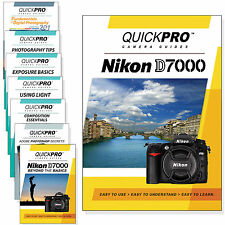 QuickPro Camera Training DVD For Nikon D7000 Instructional SLR Video Guide NEW