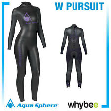 AQUA SPHERE LADIES WOMENS PURSUIT TRIATHLON WETSUIT SWIMMING OPEN WATER TRI SUIT