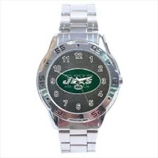 New York Jets Stainless Steel Watches - NFL Football