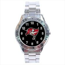 Tampa Bay Buccaneers Stainless Steel Watches - NFL Football