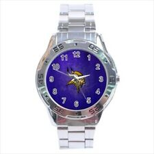 Minnesota Vikings Stainless Steel Watches - NFL Football