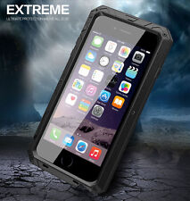 Metal Gorilla Glass Shock Dust Snow Water Proof Case Cover For iPhone 6, 6 Plus