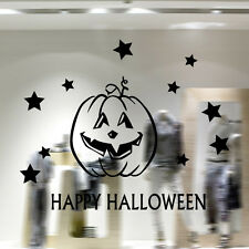 Halloween Shopwindow Wall Stickers Living Glass Decor Home Decals Art Removable