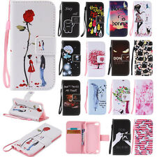 PU Leather Phone Case for Samsung iPhone LG Huawei Protective Stand Wallet Cover