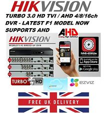 Hikvision Turbo HD TVI / AHD IP  DVR 4/8/16 Channel DVR  1080P LATEST MODEL