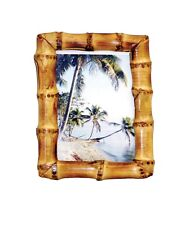 """Natural Bamboo Root Picture Frame Choice of 2 Colors 4""""X6"""" 5""""X7"""" 8""""X10"""" 11""""X14"""""""