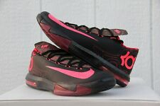Nike KD VI Meteorology Black/Atomic Red/Olive-Noble Red Sz 10.5 - (599424-006)
