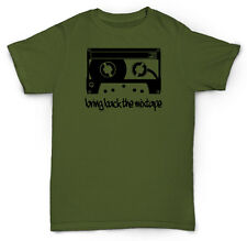 MIXTAPE T SHIRT LOW FI CASSETTE VINYL DJ MC RAP HIP HOP