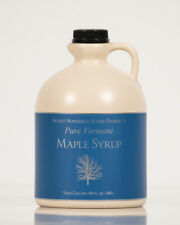 2 Gallons Pure Vermont Maple Syrup (ships as 4 half gal)