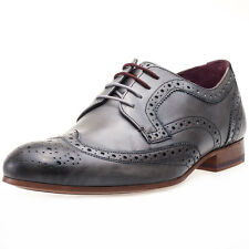 Ted Baker Gryene Mens Leather Grey Brogues