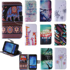 BOYA For iPhone Sony Huawei Various Phone PU Leather Stand Case Flip Folio Cover