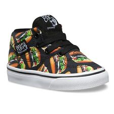 Vans Shoes Tots Half Cab Late Night / BLACK HAMBURGERS Children Toddler Boys NEW