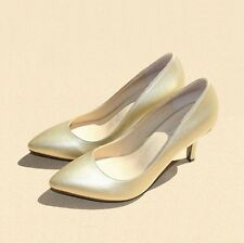 New Womens High Heels Stilettos Pointed Toe Simple Pumps Office Shoes Size 4-10