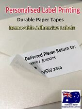 100 x Personalised Labels Stickers 62mmx29mm Return Address Signs Name Badges