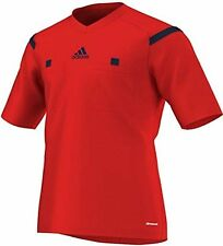 Adidas soccer jersey referee red new Men's