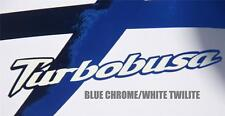 TurboBusa Hayabusa Kanji Graphics Set GSX1300R 99-07 Twilite Color Options!