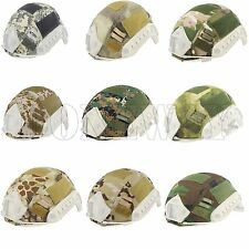 Tactical Helmet Nylon Cover For Airsoft Paintball Ops-Core Fast Helmet BJ/PJ/MH