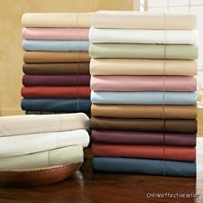 """Extra Deep Pocket 11 to 23"""" 1 Fitted Sheet All Size&Color 1000TC Egyptian Cotton"""